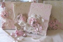 ~Fabric&Lace-Books&Journals~ / All kind of beautiful fabric&lace art. NO PIN LIMIT!!