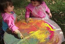 Art & Creativity for Young Children / Creating and making art. More than doing art.