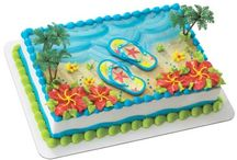 flip flop Birthday cakes
