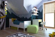 Projekt pokoju dla chłopca 2.