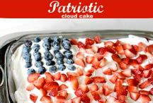 Patriotic Recipes / Recipes for the patriot. :) Great ideas for memorial day, patriots day and memorial day!