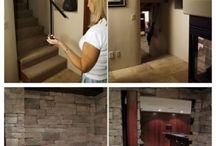 hidden doors/rooms