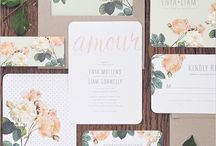 Wedding stationery photography for quints