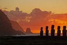 Ilha de Páscoa - Chile / Fotos de pontos turísticos do Chile