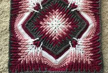 Crochet : carrés