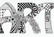 ZENTANGLE FASCINATION / by Sue Anderson