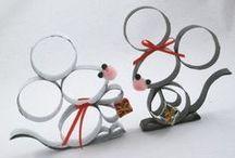petite souris boîte de Noël