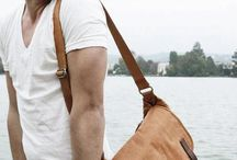 Men canvas bag