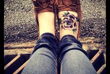 Tatuajes de pies