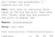 Percy/Magnus