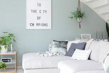 kleur woonkamer/,keuken