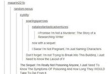 Writer? Murderer? You'll never know wich