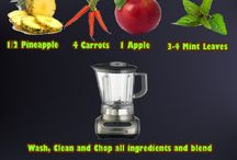 A Juice stuff/ L smoothie stuff / by Lynette Kelleher