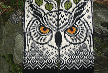 Lapaset / Knitted mitten patterns