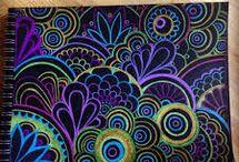 pinturas mandalas