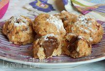 Biscotti con Nutella senza cottura