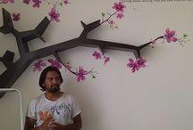 wall painting / ns kumbar art