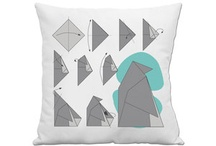 Pillows / Modern, contemporary, whimsical or original / by Melanie Saucier