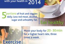 Healthy 2014  / More information on how to keep you and your family healthy during 2014