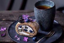 Tea cake photography