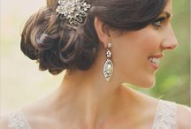 Wedding Hair & Makeup / Inspiration for hair and makeup for our wedding.  Going for some romance and a classic look.   / by Sheree Wu