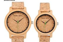 Handmade Wood Watches / These watches are made from the highest quality wood and bamboo with each wood watch handcrafted. Every watch is unique each telling it's on story. Not only the watches stand out from the rest, they are a great showpiece and a conversation starter.