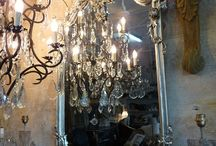 Ideas for gold and silver deco / by Yolonda Houle