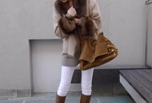 Off time outfit chic elegant casual