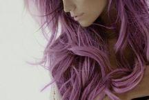 Lavendel-kleurig Haar