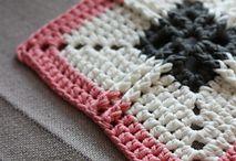 crochet squares & motifs / Patterns; stitches; diagrams