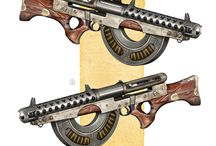 Steampunk guns (Mist of stagnation)
