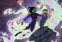 Karolina and Xavin / Runaways (Marvel):  Karolina Dean/Lucy in the Sky and Xavin - Xavolina (Femslash) / by Taylor Smith