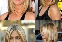 Framing hairstyles / From side bangs and subtle shaping, to lots of texture and framing
