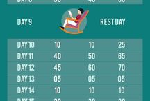 30 day squat en abs challenge