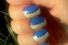 Nails I did  / This portrays my nail adventures  / by Rachel Braithwaite