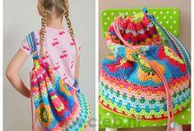 Crochet Bags, Baskets & Purses