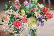 Flower jars party