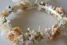 flower headband communion