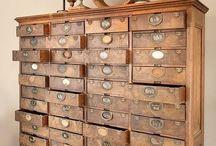 MUEBLES COLECCIÓN / Muebles vintage antique