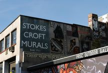 Bristol - Stokes Croft / First Contemporary gallery is based in the eclectic and ever-moving Stokes Croft. Known for street art, independent shops, and the vast range of cool restaurants, this board is dedicated to the best of Stokes Croft.