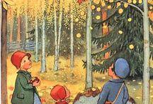 Ilustracje - jesień