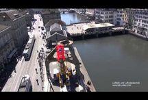 Luftvideoaufnahmen