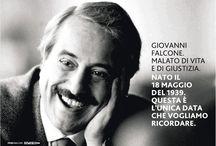 Paolo Borsellino Giovanni Falcone /Peppino Impastato.../Pino Puglisi...!!!