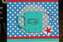 A Nice Cuppa Stampin Up / Stampin Up A nice Cuppa stamp set inspiration cards for men masculine order online zoe tant
