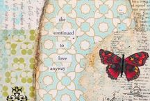 Altered Art/Art Journaling / Thinking outside the Box - Altered Art/Art Journaling ---------------