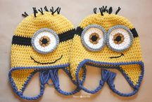 Crochet ~ Kid's Character Hats