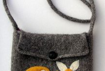 Bags & cute things!! / Cuteness made out of recycled sweaters.. / by Faye McWilliams