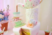 "Wedding Theme Tea Cups / Matrimonio a tema ""teacups"""