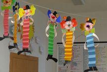 karnevalový klaun