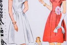 Design Styles: 1940's dresses / vintage 1940's images for fashion design